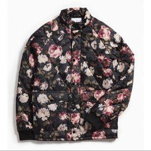 UO Lightweight quilted puffer jacket. Men's